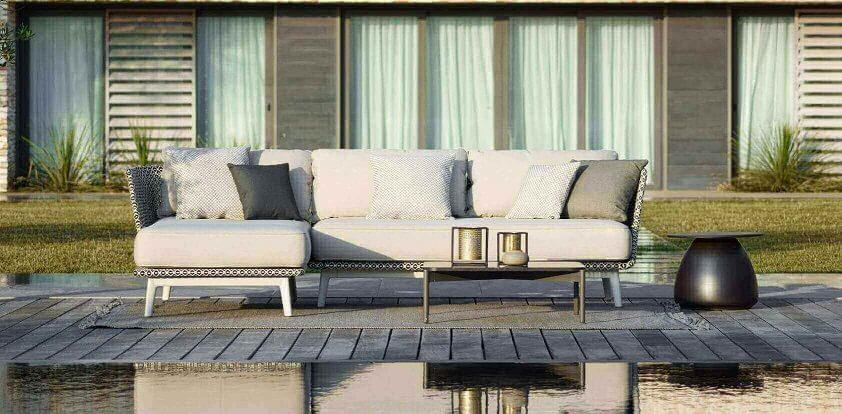 MBARQ Gartenmöbel von DEDON Sofa