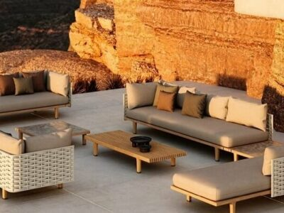 Sealine Loungegruppe Gartenmöbel von DEDON